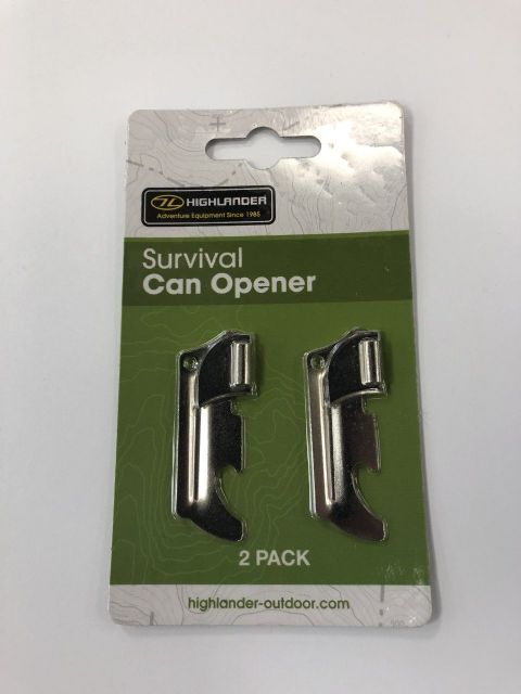 Highlander Survival Can Opener